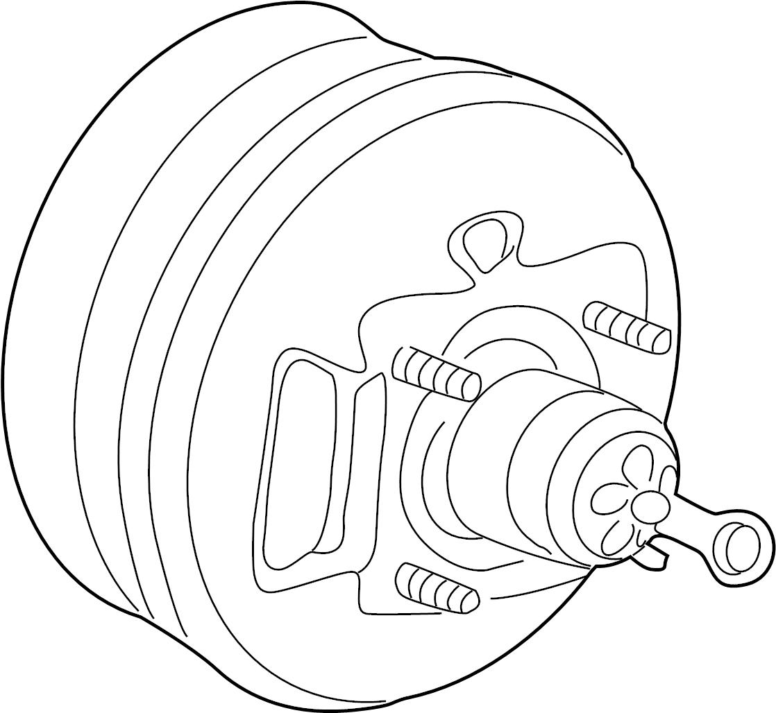 Ford Explorer Sport Trac Power Brake Booster Panel