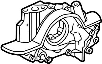 Ford Contour Engine Oil Pump. Pressure, BEARINGS