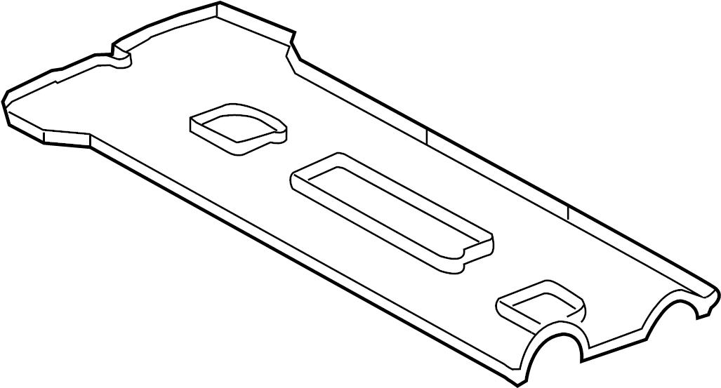 Ford Mustang Engine Valve Cover Gasket. LITER, BEARINGS