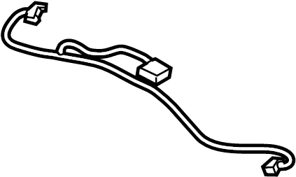 Ford Escape Sunroof Cable. From 12/07/2016. Wire, Body