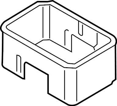 Mercury Mountaineer Cover. Battery. Fuse Box. Heat shield