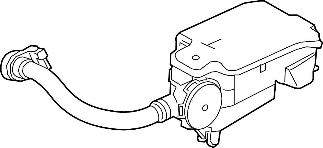 Ford F-350 Super Duty Separator. Vapor. Valve. Canister