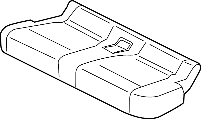 Ford F-250 Super Duty Seat Cover. Inflatable, Belts