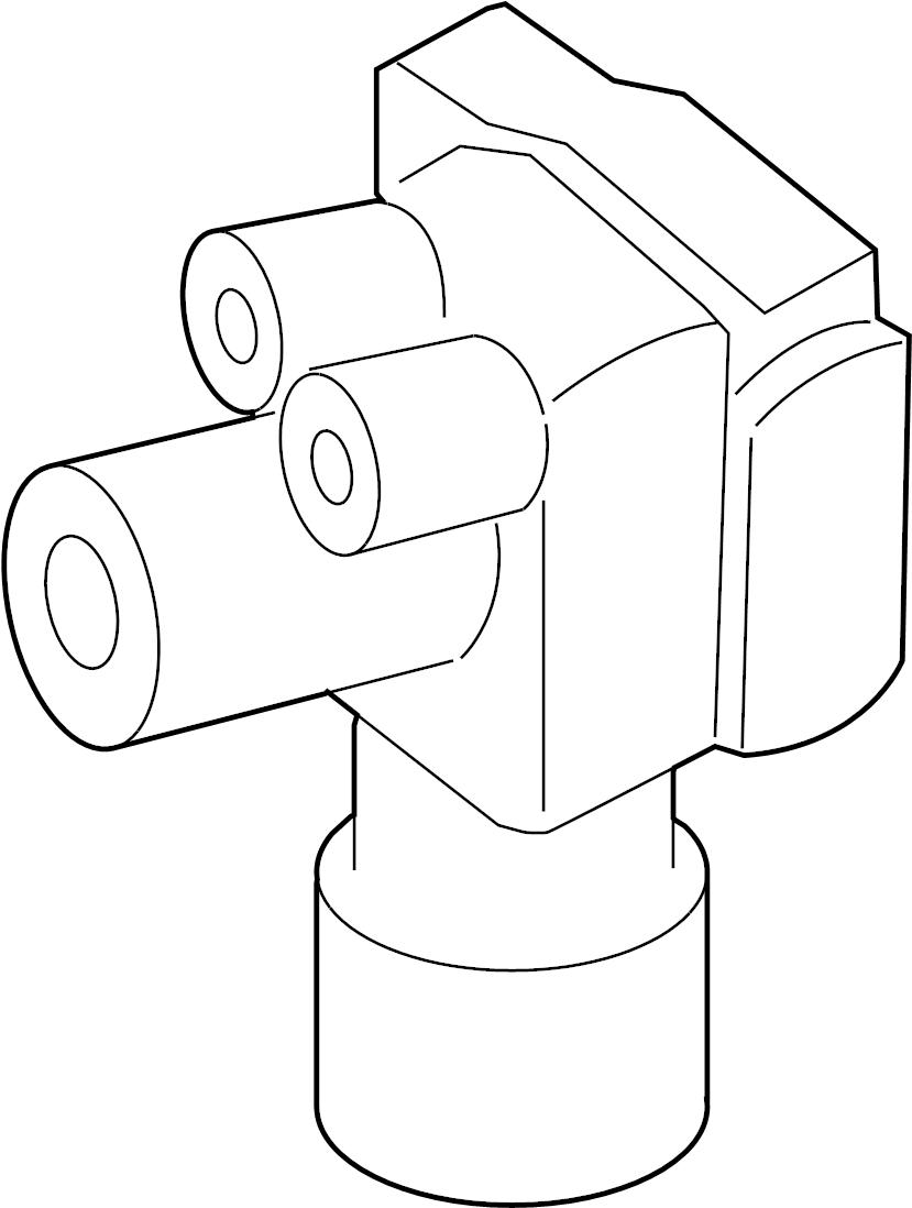 Mercury Mariner Abs. Control. Modulator. 2008. An abs