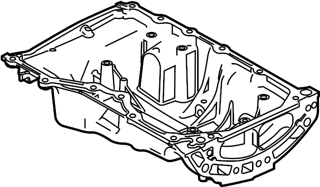 Ford Escape Engine Oil Pan. Hybrid, LITER, BEARINGS