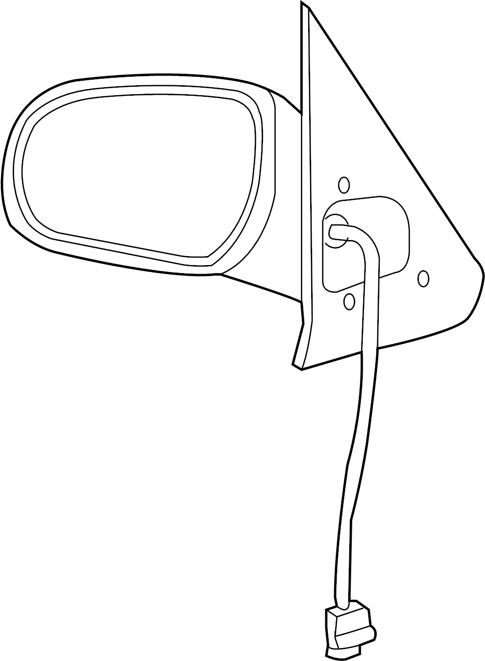 Ford Escape Door Mirror. Right, Replace, Repair