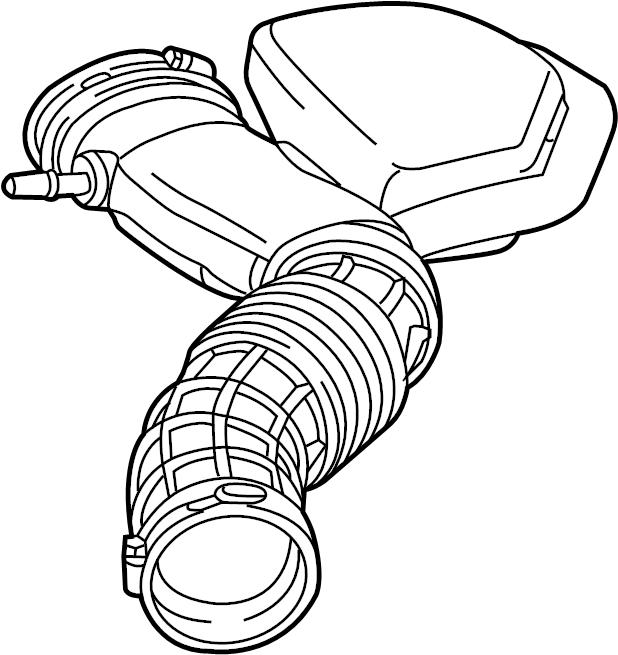 Ford Edge Engine Air Intake Hose. 2.0 LITER. Inlet