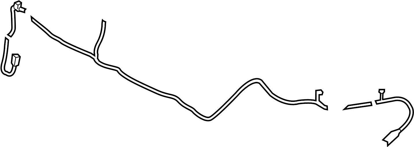 Ford Edge Wire harness. Shutter, 2.0 liter. Shutter, 2.7