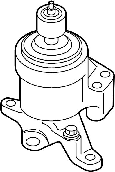 Lincoln Continental Mount. Engine. Bracket. 3.5 LITER. 3.7