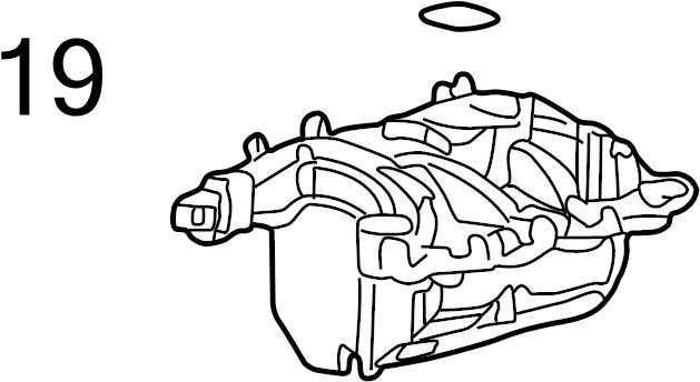 Mercury Mountaineer Gasket. Cover. Engine Seal. Fuel