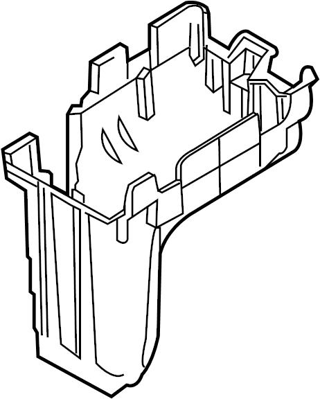 Ford Edge Bracket. Bottom panel mount. Fuse Box. Junction