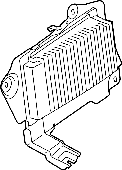 Lincoln MKX Radio Amplifier. W/THX sound. SYSTEM