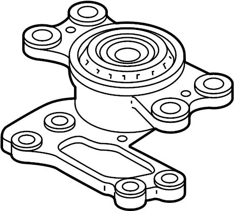 Lincoln MKX Automatic Transmission Mount. ENGINE, LITER
