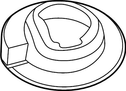 Ford Explorer Coil Spring Insulator. SUSPENSION, AIR