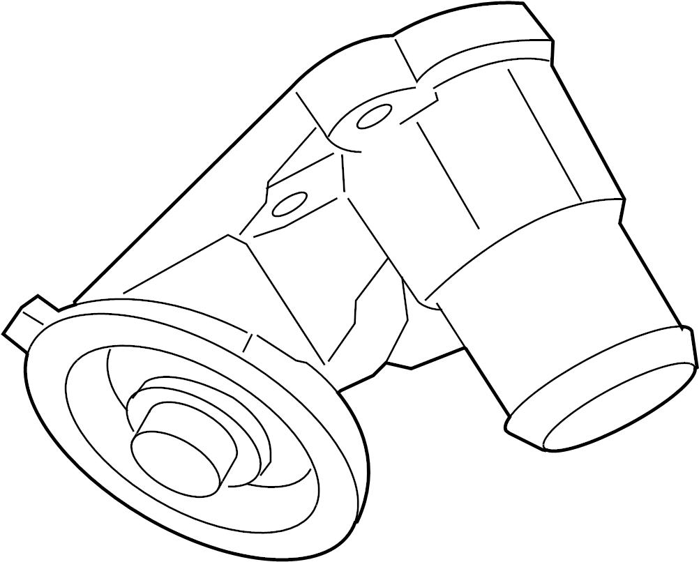 Ford Explorer Sport Trac Engine Oil Filter Adapter