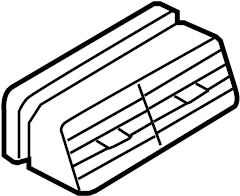 Mercury Mountaineer Dashboard Air Vent. 2006-10. 2006-10