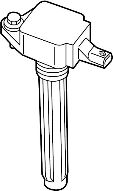Ford Explorer Direct Ignition Coil. LITER, NON
