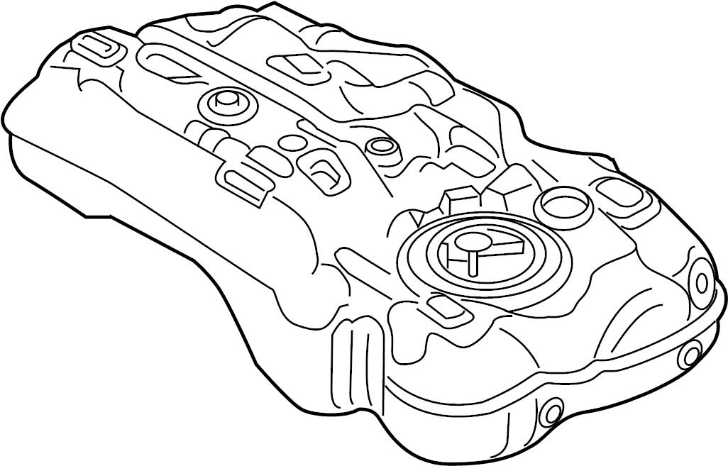 Ford F-250 Super Duty Fuel Tank. BRACKETS, LITER