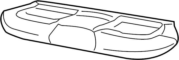 Ford F-350 Super Duty Seat Cushion Foam. Way, Ventilated