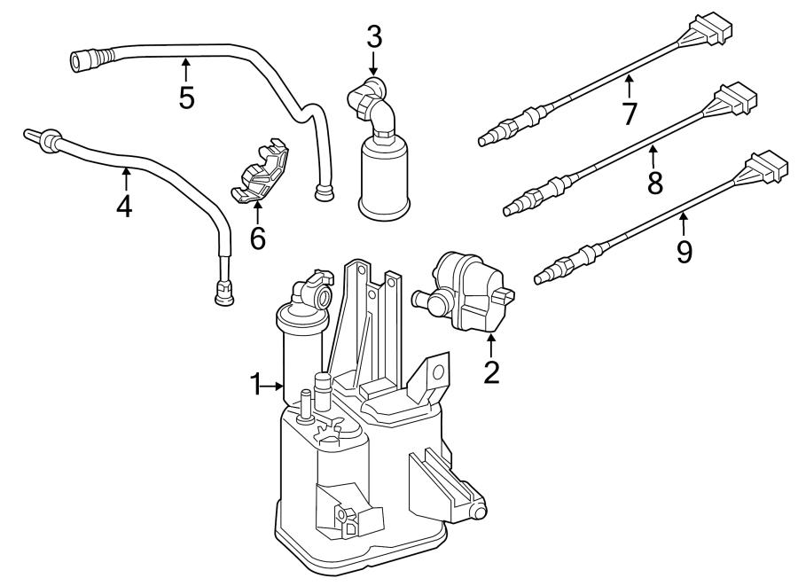 Volkswagen Beetle Convertible Oxygen Sensor (Front