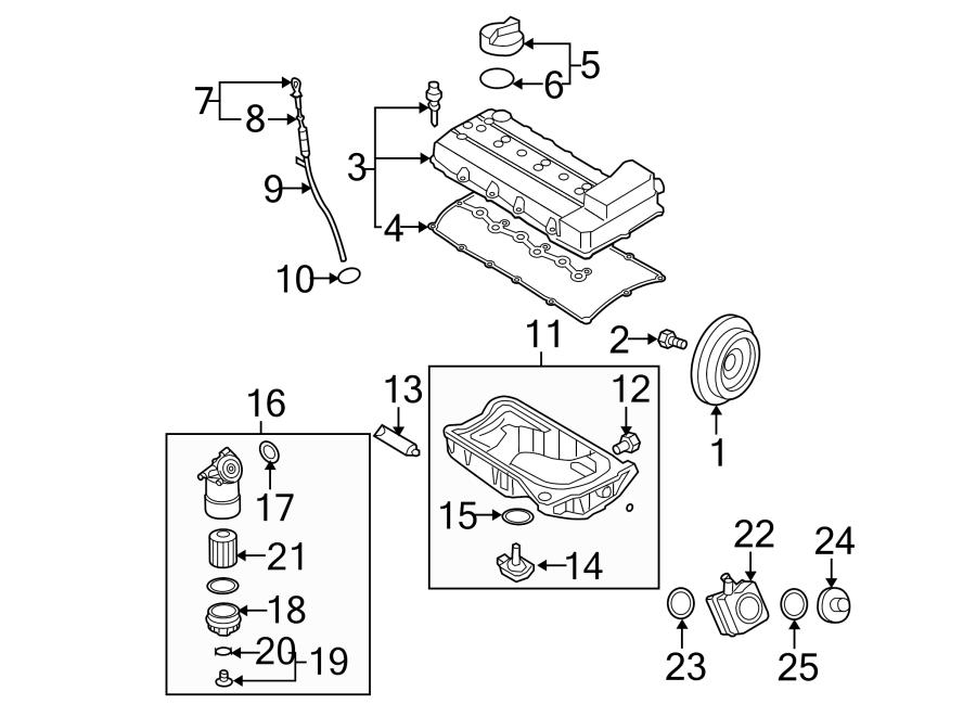 Volkswagen Passat Engine Oil Filter Housing. 3.6 LITER. 3