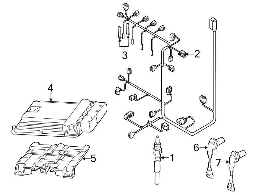 Volkswagen Golf Engine Camshaft Position Sensor. LITER