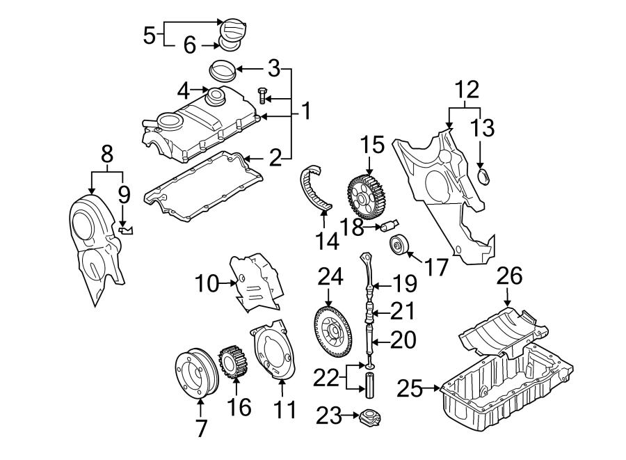Volkswagen Golf Engine Timing Camshaft Sprocket. Pulley