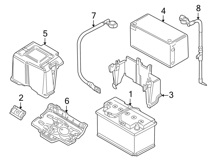 Volkswagen Jetta GLI Battery Cable. Liter, Trans, Manual