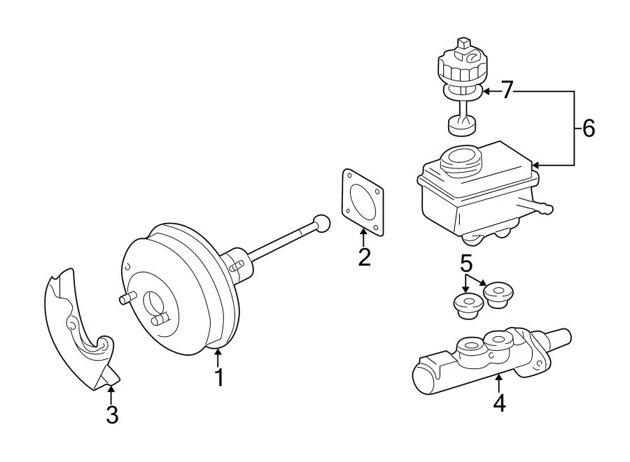 Volkswagen Jetta Brake Master Cylinder. Leak, Cntrl, Model