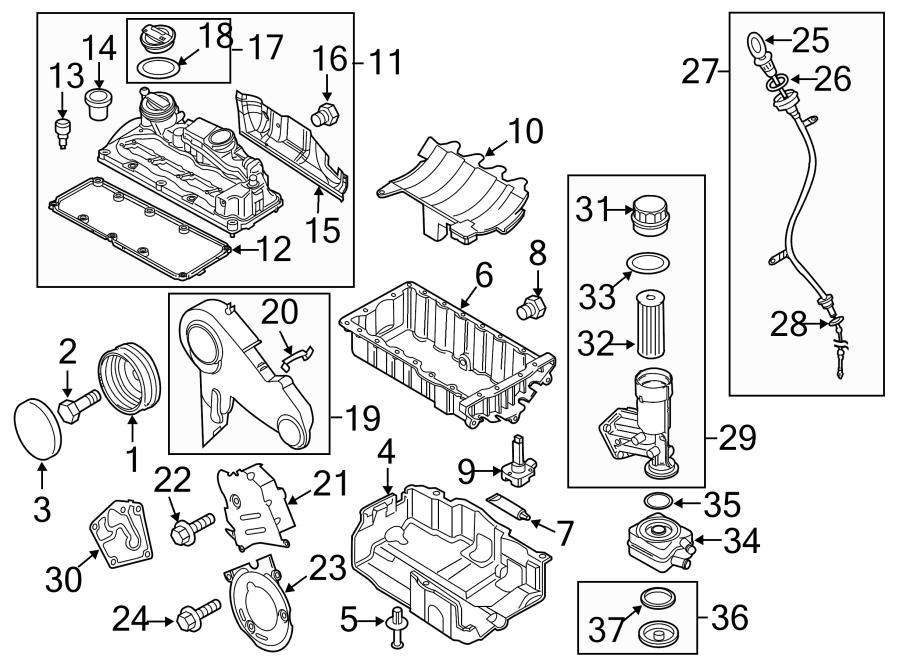 Volkswagen Jetta Powertrain Skid Plate Bolt. LITER, DIESEL