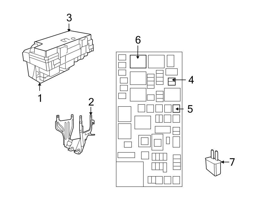 Volkswagen Routan Powertrain Control Module Relay