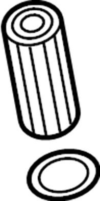 Volkswagen Jetta Engine Oil Filter Gasket. Group