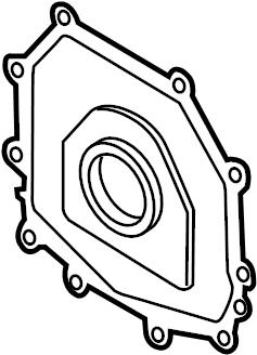 Volkswagen Beetle Convertible Engine Crankshaft Seal. 2.5