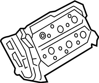 Volkswagen Passat Engine Cylinder Head Assembly