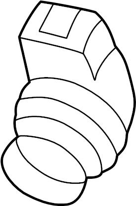 Volkswagen Beetle License Plate Light Socket. Side Marker
