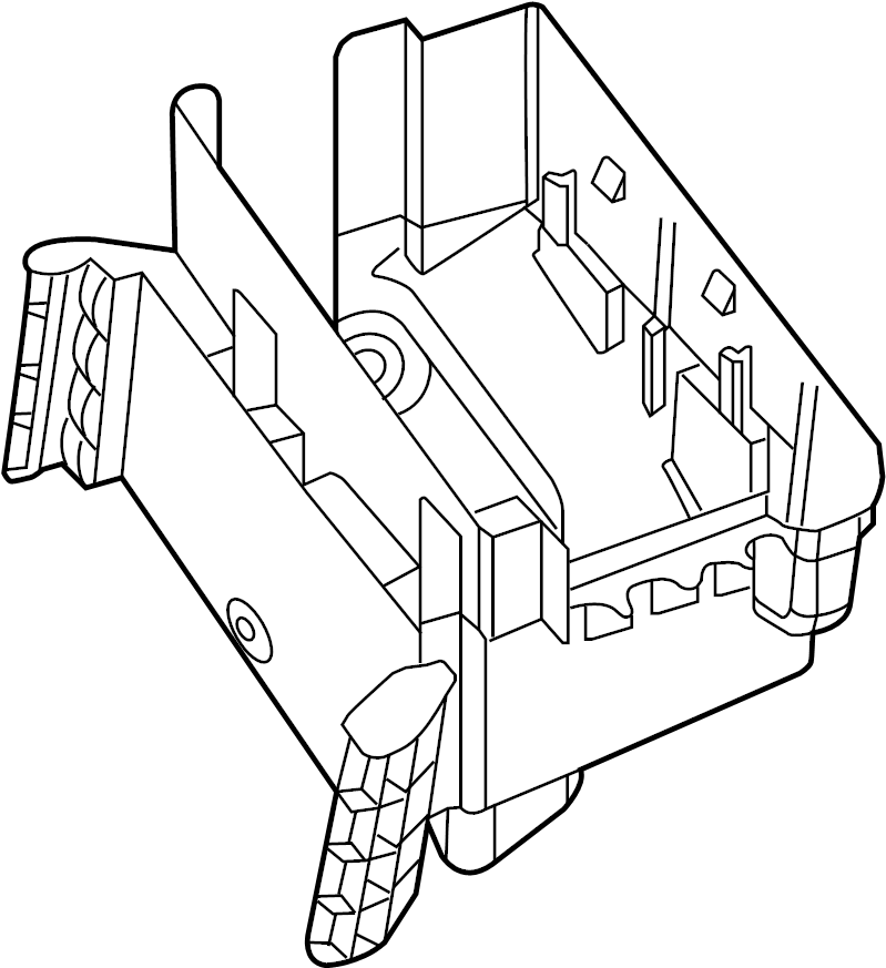 Volkswagen Passat Bracket. Fuse. Relay. And Center. Box