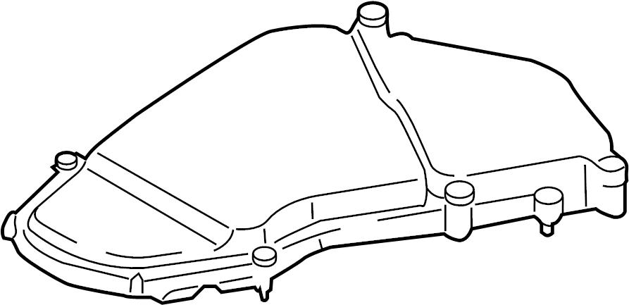 Volkswagen Touareg Fuse Box Cover. ENGINE COMPARTMENT