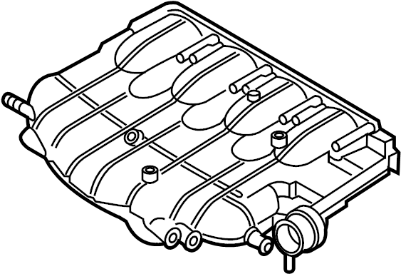 Volkswagen Tiguan Engine Intake Manifold. Chain, LITER