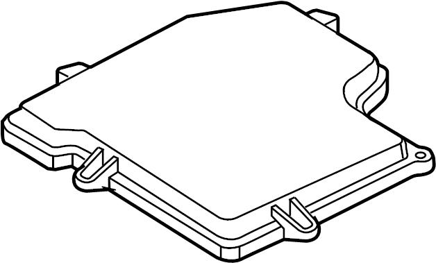 Volkswagen Passat Wagon Ecm cover. Engine control module