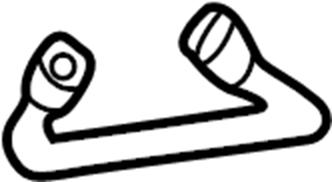 Volkswagen Passat Wagon Seat Belt Guide. NEW STYLE
