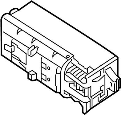 Volkswagen Jetta GLI Fuse box main. Fuse Holder