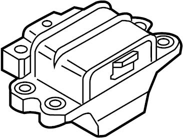 Volkswagen Passat Automatic Transmission Mount. Gear