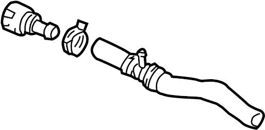 Volkswagen Golf Hvac heater hose. Make, cooling, repair