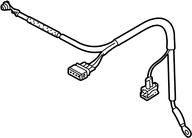 Volkswagen Golf Wire harness. Alternator, 2.0 liter