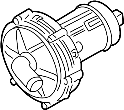 Volkswagen Golf Secondary Air Injection Pump (Right