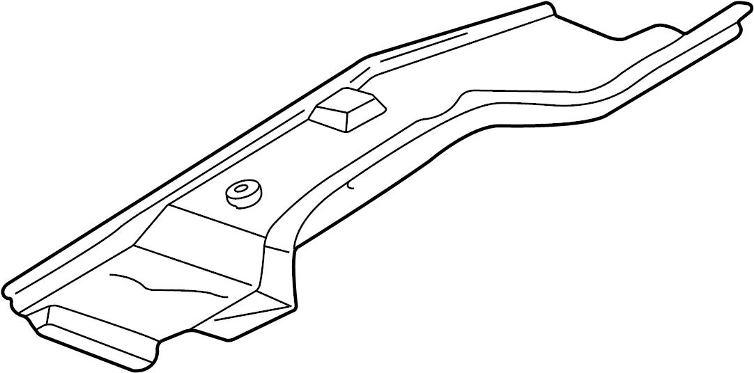 Volkswagen Jetta Hvac unit case (lower). Manual a/c
