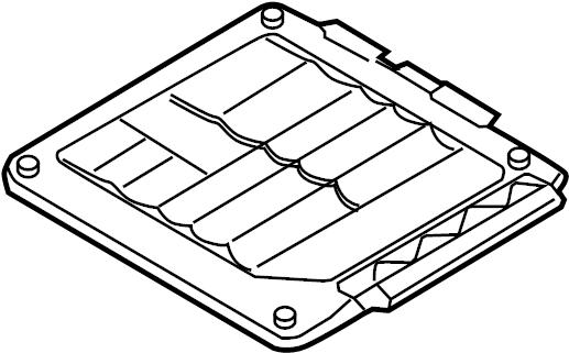 Volkswagen Jetta Engine Control Module. 2.5 LITER