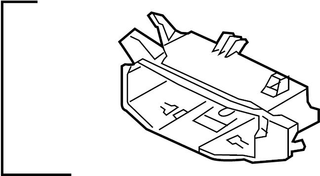 Volkswagen Jetta GLI Frame. BRACKET. Storage. Guide