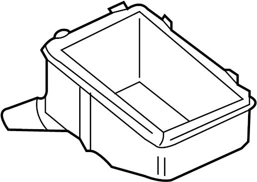 Volkswagen Jetta Wagon Box. Grommet. Relay. Bracket