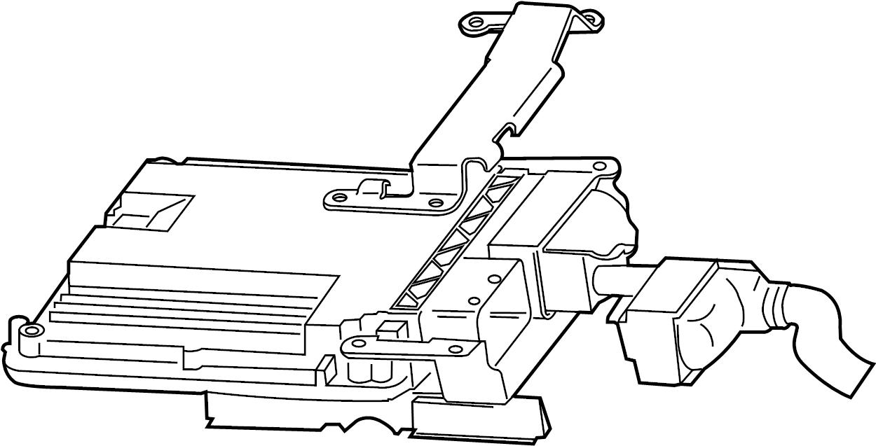 Volkswagen Jetta Engine Control Module. 2.0 LITER, GAS